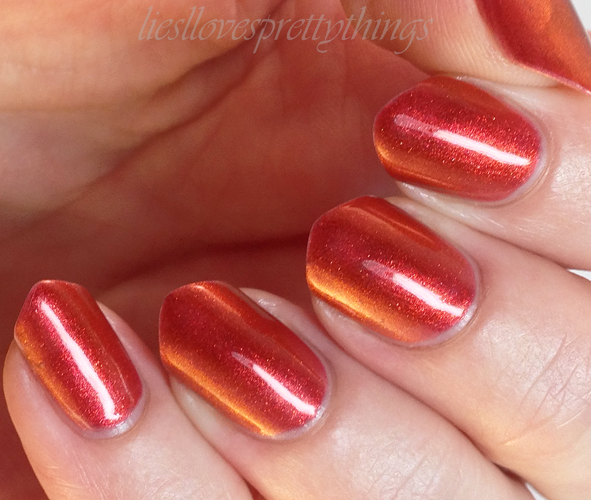 Sally Hansen Nail Prisms Bronze Ruby