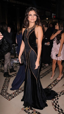 Selena Gomez The Eighth Annual UNICEF Snowflake Ball