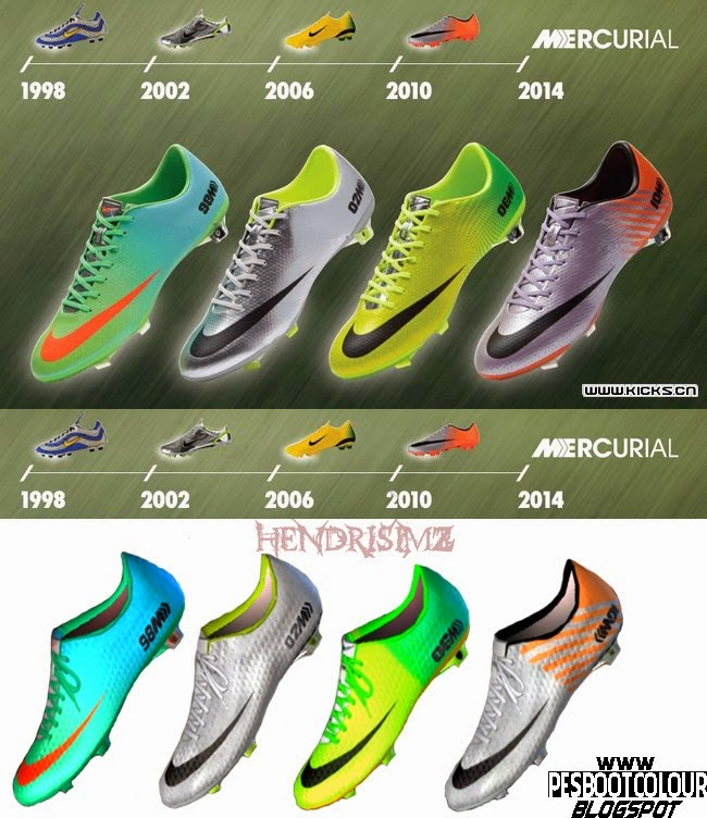 PES 2013 Nike Mercurial History Boots by HendriSimZ