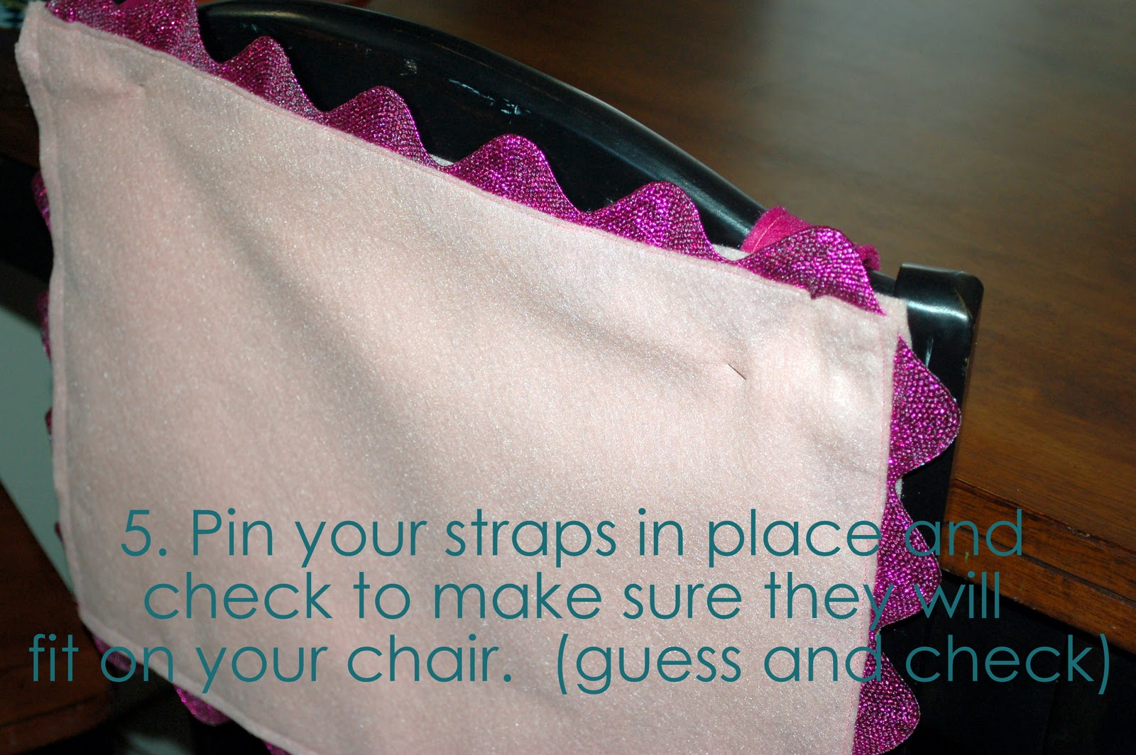 Chair Back Valentine Envelope Knock Off