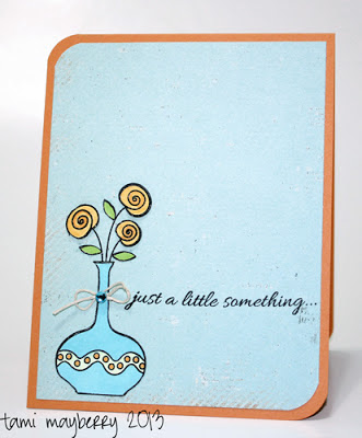 Card by Tami Mayberry. Stamps from Gina K Designs
