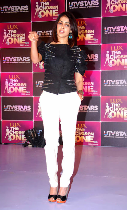 genelia at the launch of utv stars the chosen one