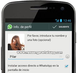 Como instalar WhatsApp en un dispositivo con Android