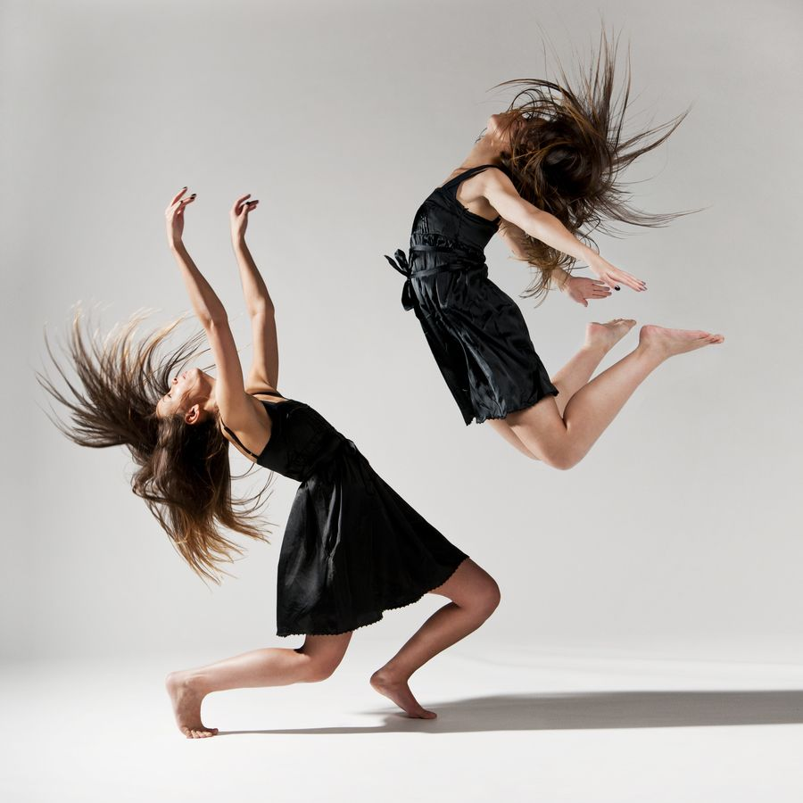 6. Impressive Ballet Dance by Two Girls