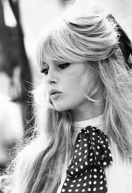 A baby-faced Brigitte Bardot