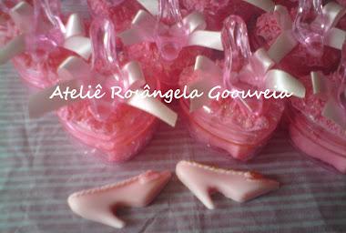Lembrancinhas cor de rosa
