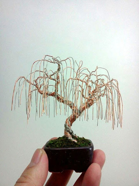 Aluminum wire Tree Arts