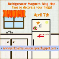 Refrigerator Magnets Blog Hop