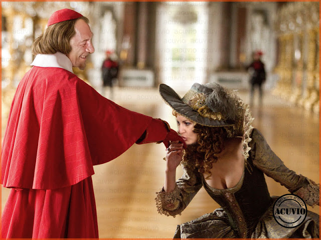 Funny photo Traian Băsescu Elena Udrea Cardinalul şi Milady
