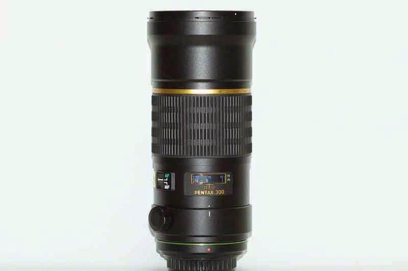 Pentax DA300mmF4ED lens