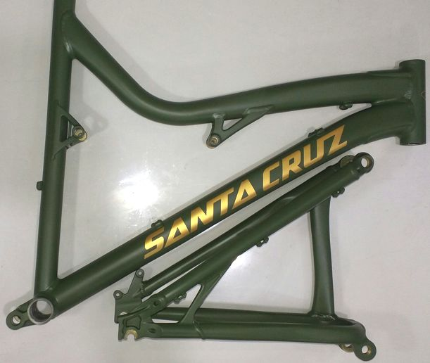 Santacruz verde/ouro fosco