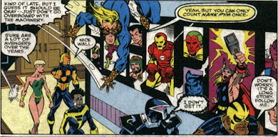 New Warriors 22 Avengers Mansion Hank Pym