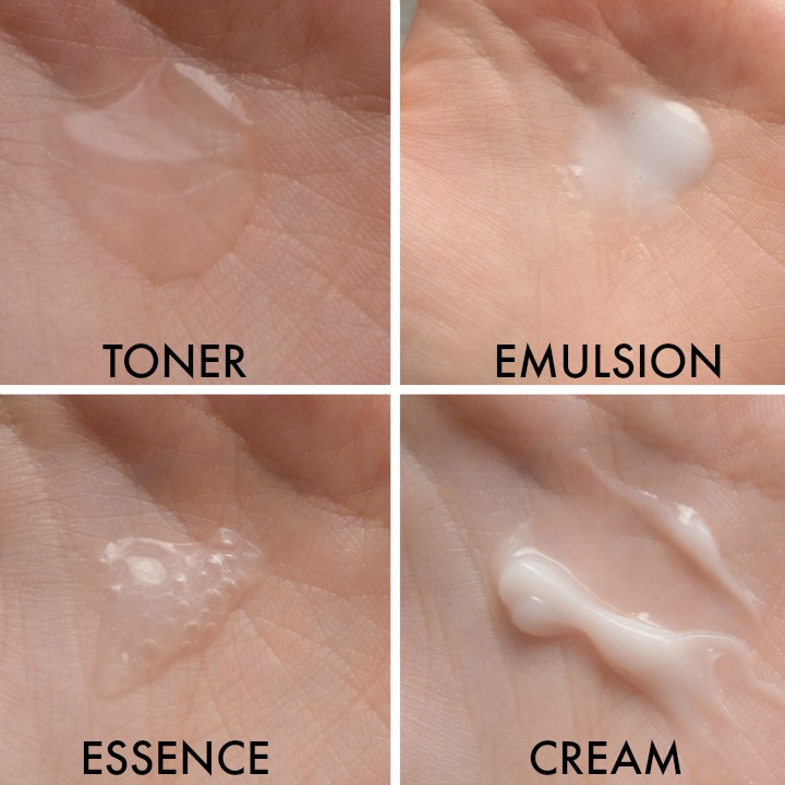 Etude House Moistfull Collagen Facial Toner Emulsion Essence Gel Cream Consistency Texture