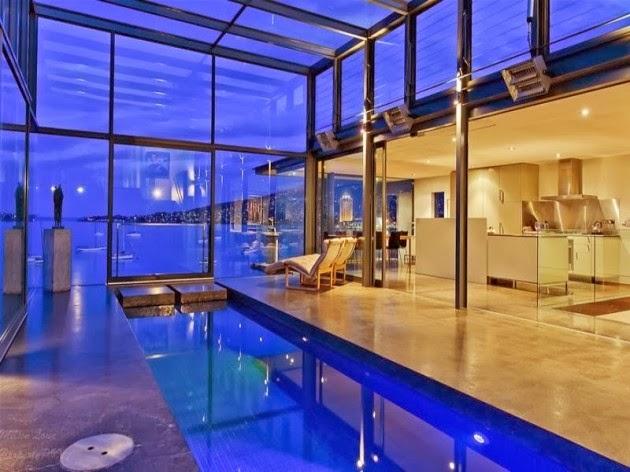 ... les plus étonnantes et spectaculaires -conception piscine intérieure