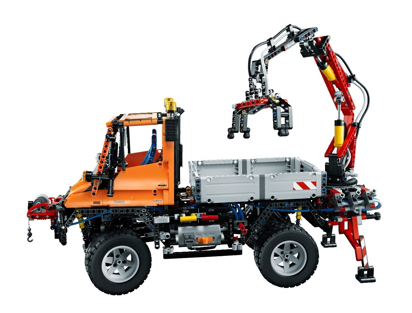my lego style lego technic unimog u400 8110. Black Bedroom Furniture Sets. Home Design Ideas
