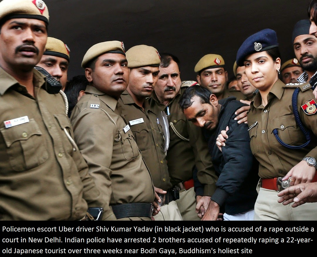 ... RAPE CASE IN INDIA : 2 BROTHERS ARRESTED OVER RAPE OF JAPANESE TOURIST