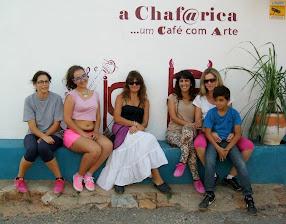 Cadeira da Fama com grupo de DançaOriental