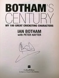 Ian Botham signed book autobiography autograph