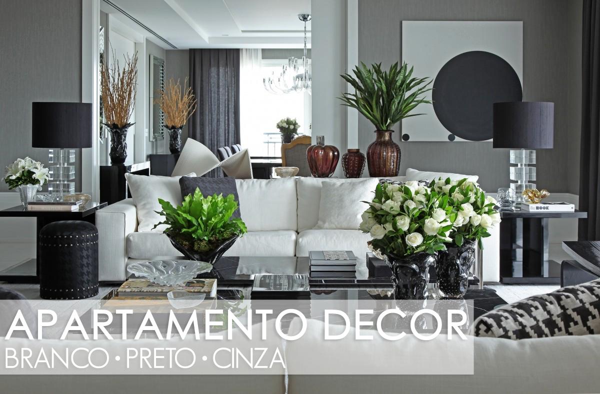 #44662A decoracao sala branco e preto:com salas de estar jantar e varanda com  1200x789 píxeis em Decoração De Sala De Estar Com Sala De Jantar Pequena