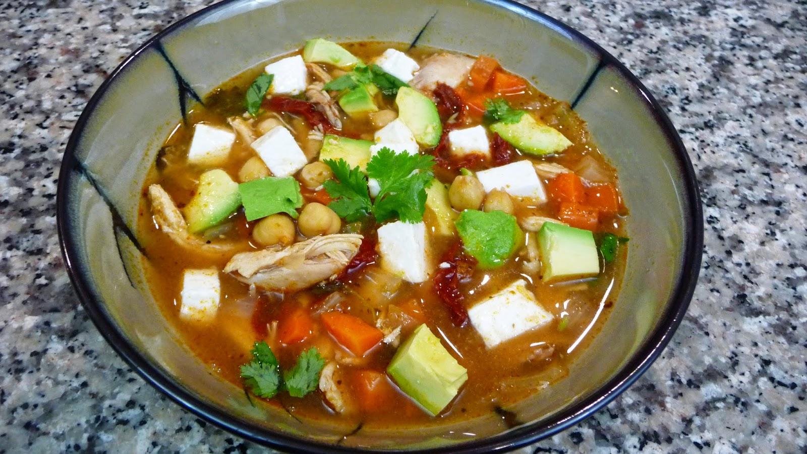 Caldo tlalpe o receta facil cocina facil - Cocina facil manises ...