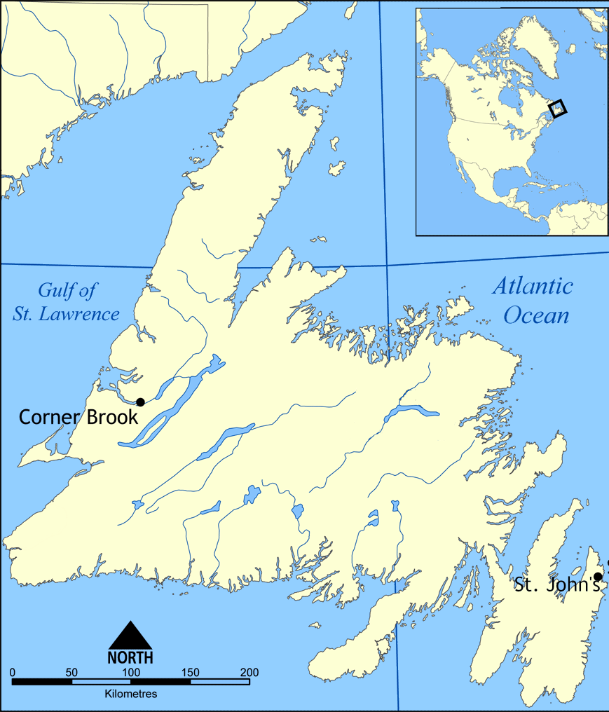 Map of Canada Regional City in the Wolrd Newfoundland Map – Regional Map of Canada