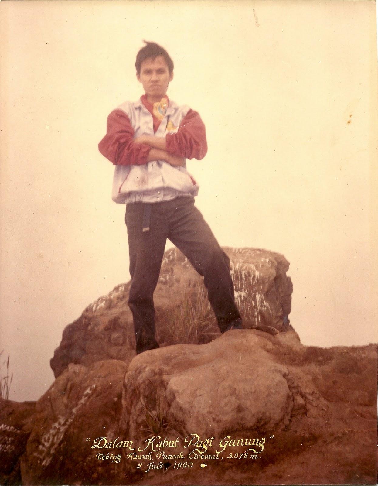 Puncak Ciremai Juli 1990