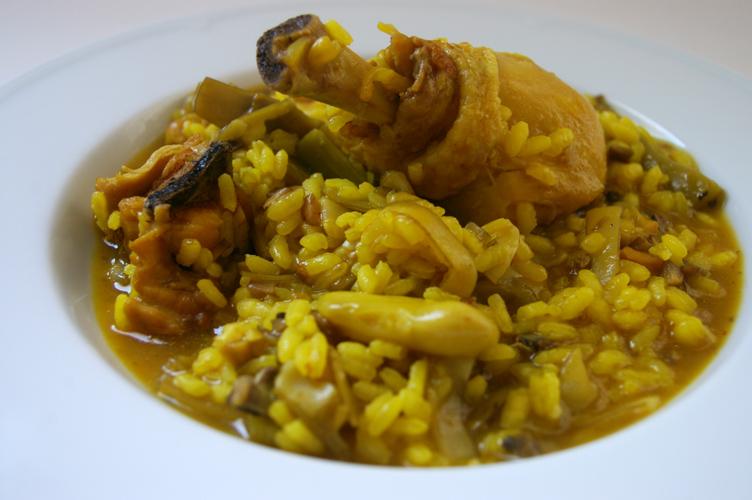 Arroz Caldoso Con Setas Y Pollo fentdetutto: arroz meloso de pollo con setas y alcachofas