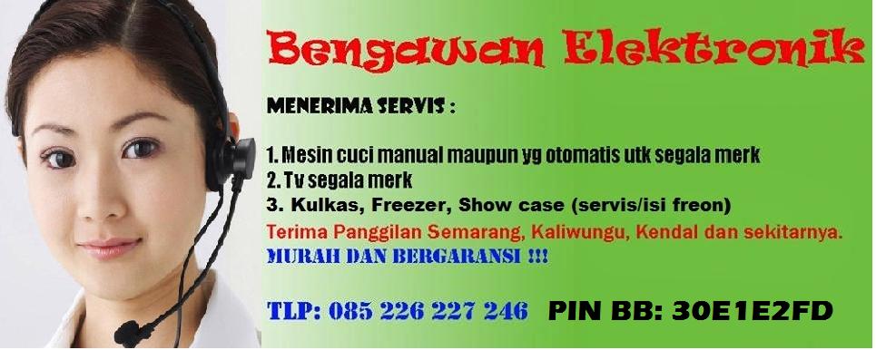 Servis kulkas, TV dan Mesin Cuci Semarang
