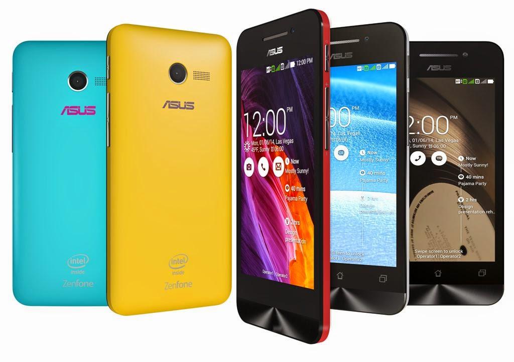 Asus smartphone Android Zenfone 4