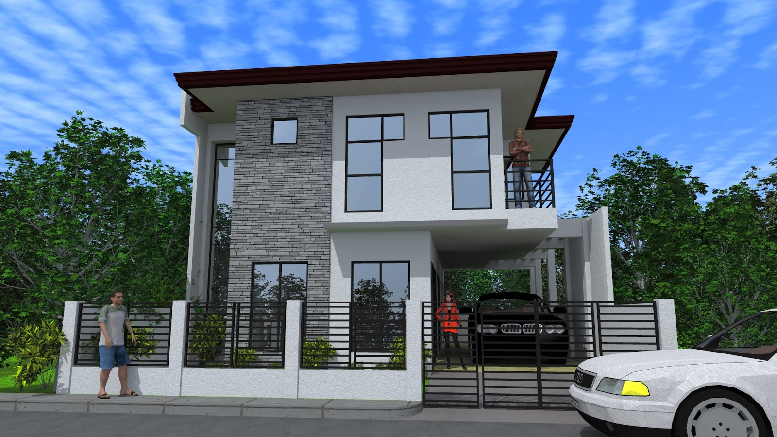 Arkimania latest projects for Modern minimalist house plans philippines