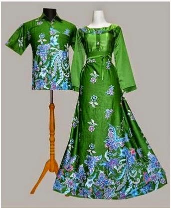 Gambar Modern Gamis Batik