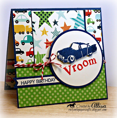 Rocky Mountain Paper Crafts Little Boy Birthday Card