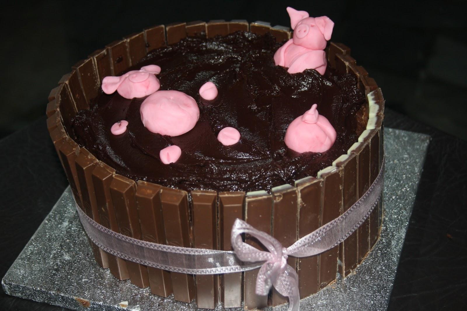 Caroline Makes Pigs In Mud Cake Mississippi Mud Pie