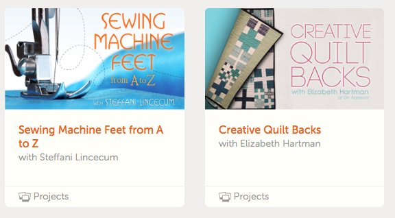 sewing machine feet, creative quilt backs, quilting classes, craftsy