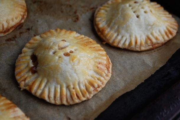 Mini Peach Pie Pockets - Always Order Dessert