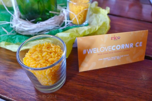 My mom friday a new healthy rice rico corn rice we all enjoy eating corn whether plain boiled corn on the cob or sweet corn kernels served with veggies i even made corn muffins before and still crave ccuart Choice Image