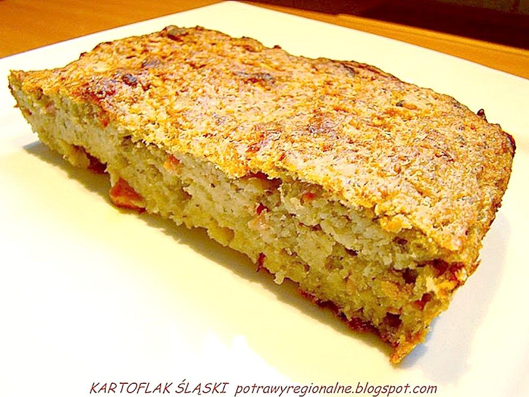 Potrawyregionalne Kartoflak Czyli śląska Babka Ziemniaczana
