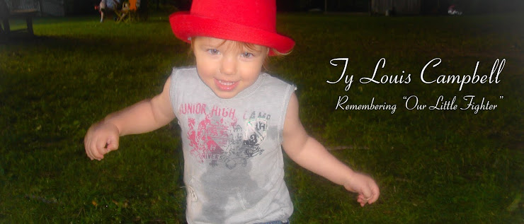 Ty Louis Campbell - our little fighter