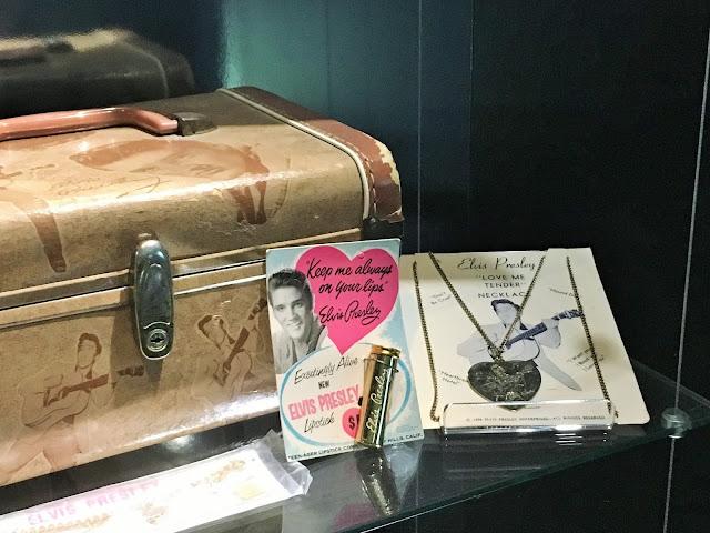 Elvis Presley Memorabilia.