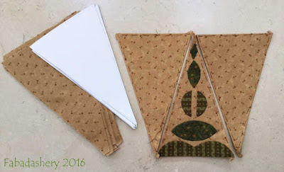 Dear Jane Quilt - Border Triangles