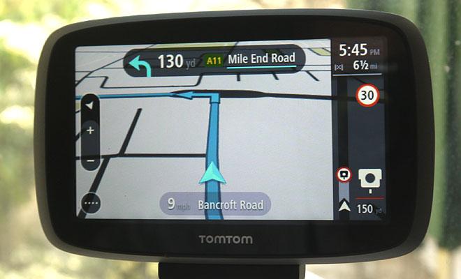 TomTom Go 500 speed camera warning