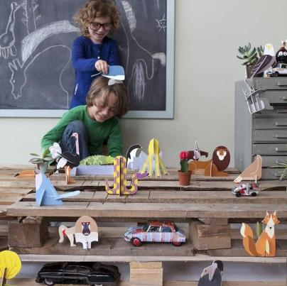 animali di carta da costruire smallable e mamma leggiamo insieme