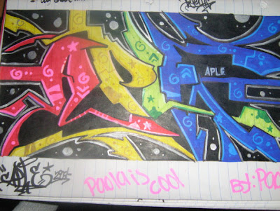 Tag Graffiti Blackbook