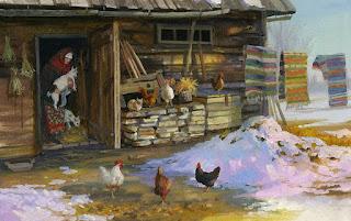 paisajes-casas-campo-gallinas