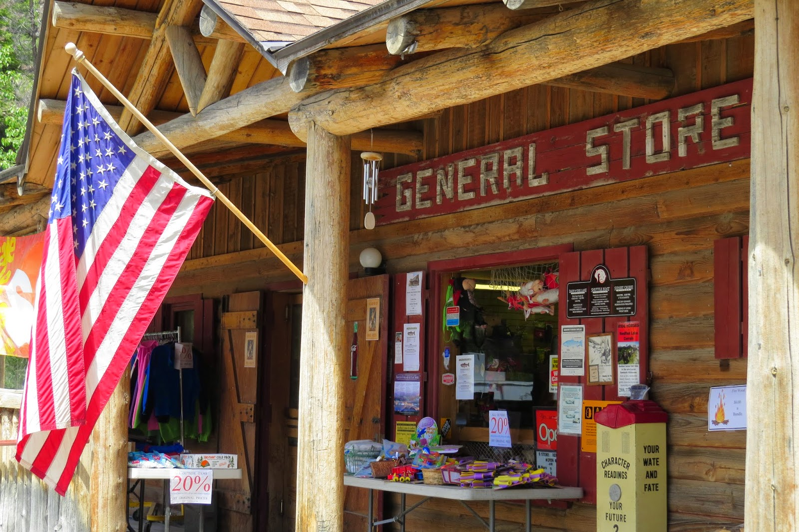 Redfish Lake Lodge General Store in Stanley, Idaho