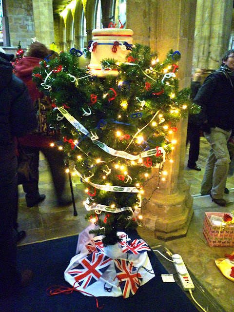 melton mobray christmas tree festival via lovebirds vintage