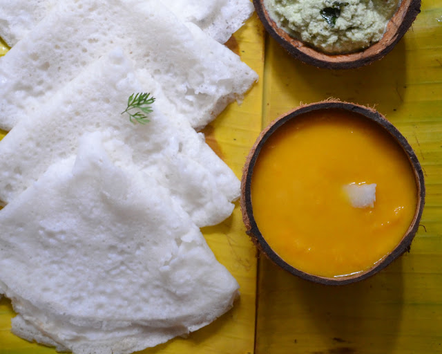 rasayana, seekarane, mangalorean dish, south canara dish, konkani dish, mango dessert