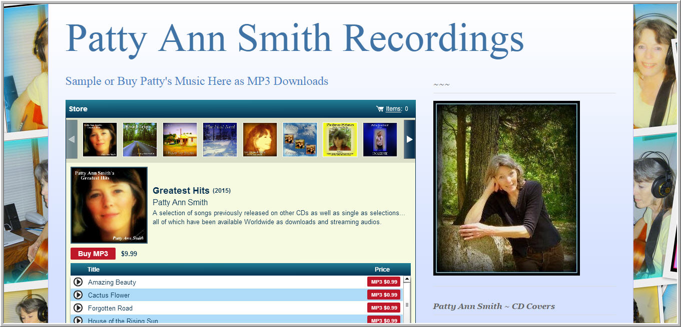 Patty Ann Smith Recordings