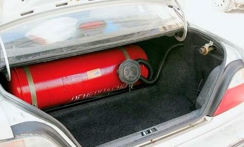 устанавливаем газ на машину