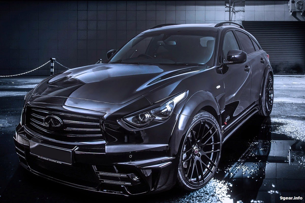 AHG-Sports Infiniti QX70 Goes Wide Body | Car Reviews ...